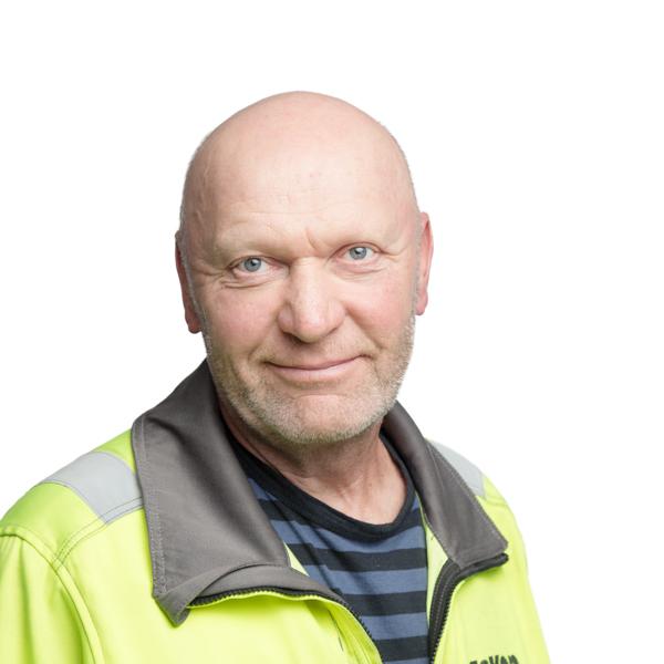 Työnjohtaja Sauli Suomalainen